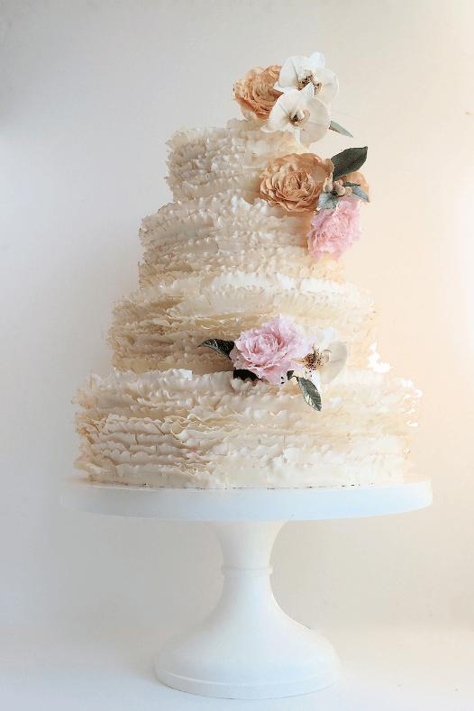 весільні торти Львів фото_9