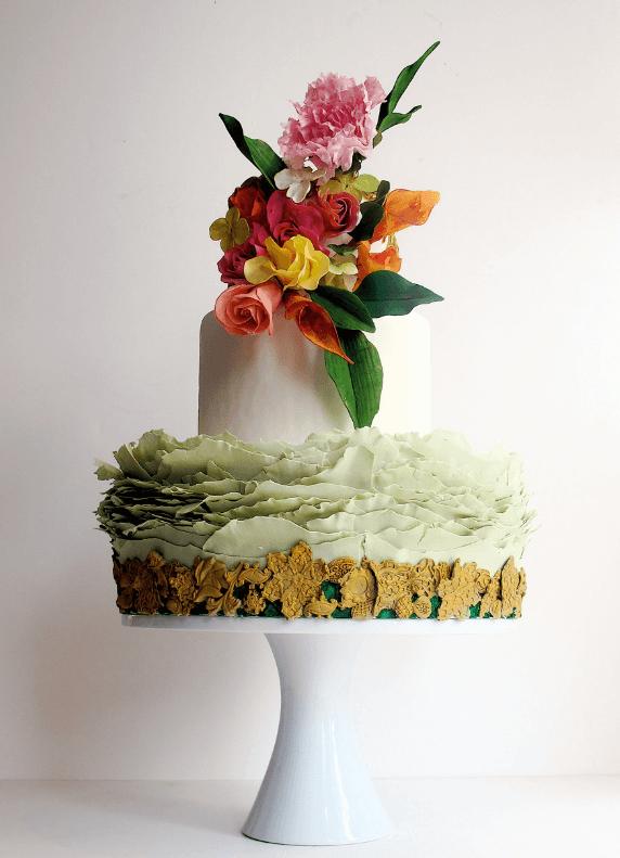 весільні торти Львів фото_10