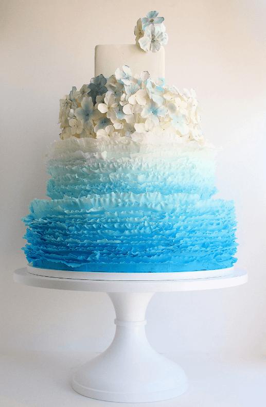 весільні торти Львів фото_11