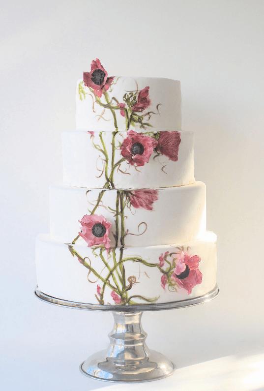 весільні торти Львів фото_12