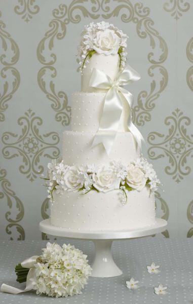 весільні торти Львів фото_16