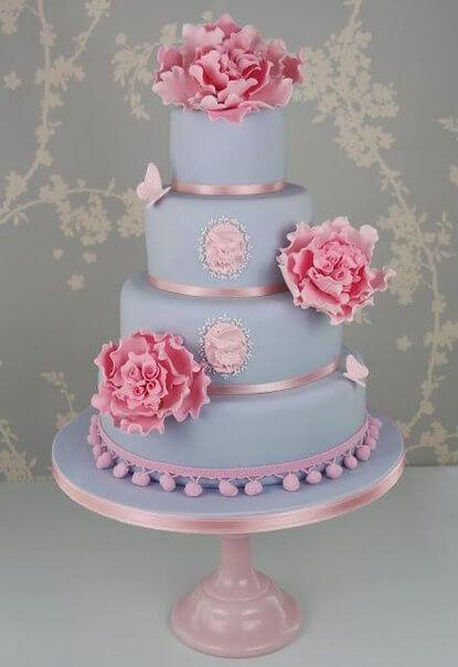 весільні торти Львів фото_17