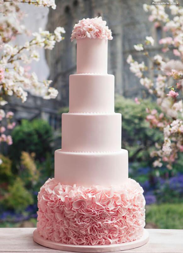 весільні торти Львів фото_20