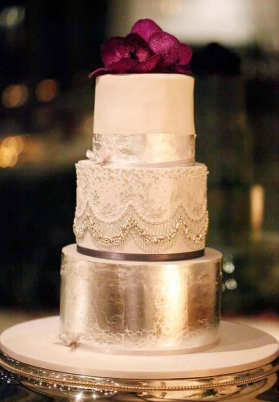 весільні торти Львів фото_21