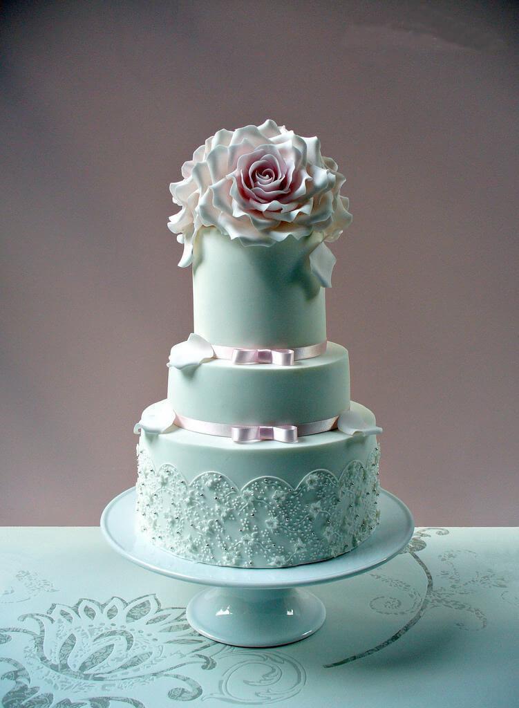весільні торти Львів фото_27