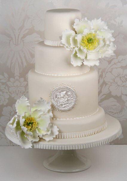 весільні торти Львів фото_28
