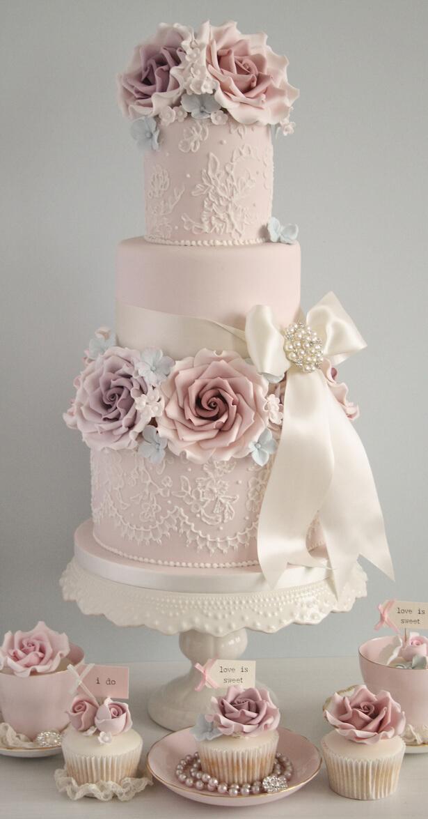 весільні торти Львів фото_29