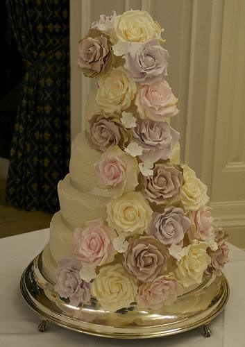 весільні торти Львів фото_33