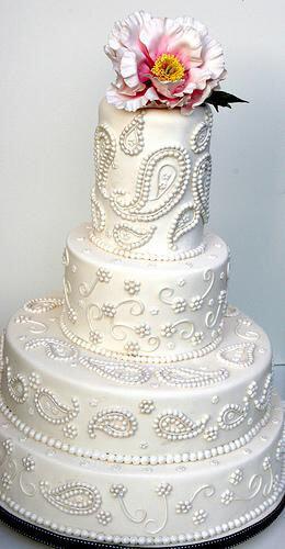 весільні торти Львів фото_34