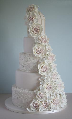 весільні торти Львів фото_36