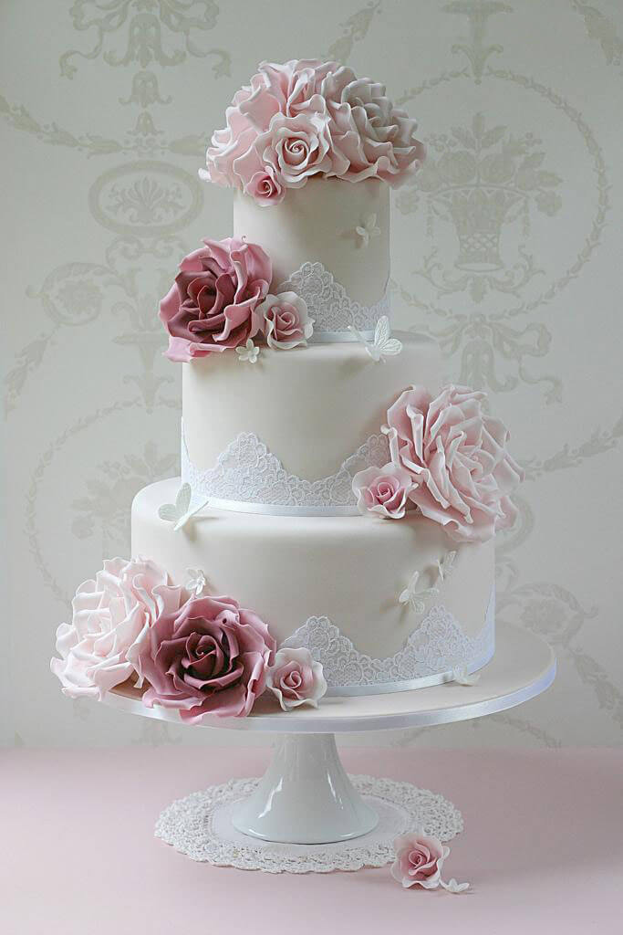 весільні торти Львів фото_37
