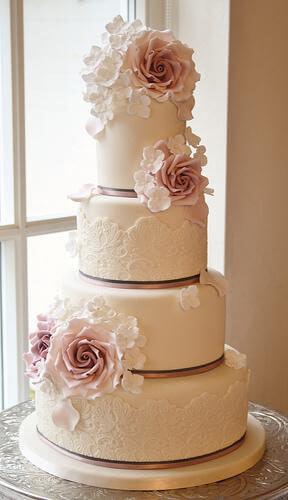 весільні торти Львів фото_39