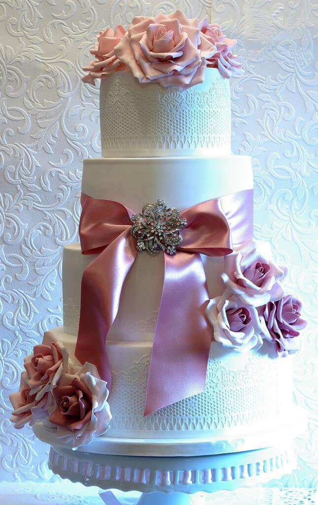 весільні торти Львів фото_41