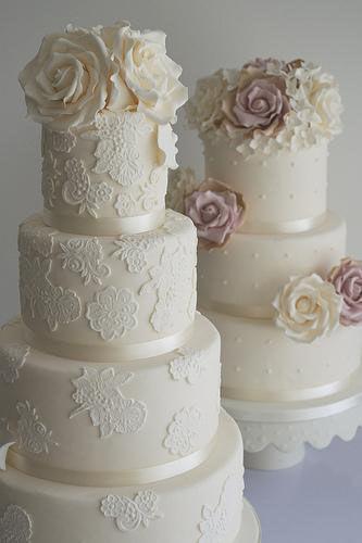 весільні торти Львів фото_45