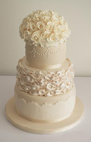 весільні торти Львів фото_46