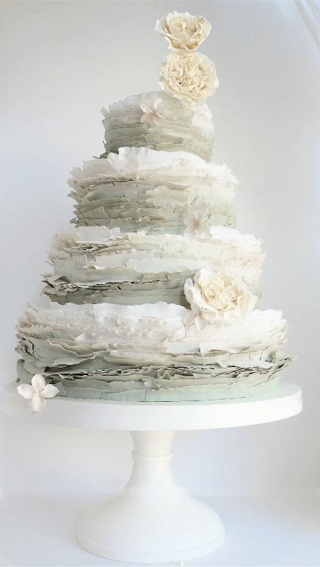 весільні торти Львів фото_2
