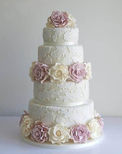 весільні торти Львів фото_50