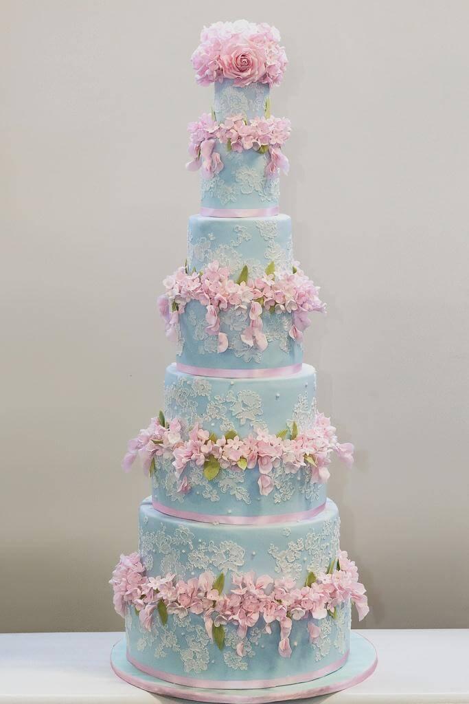 весільні торти Львів фото_53