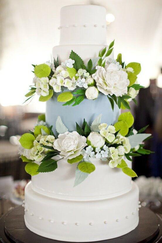 весільні торти Львів фото_55