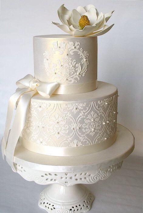 весільні торти Львів фото_3