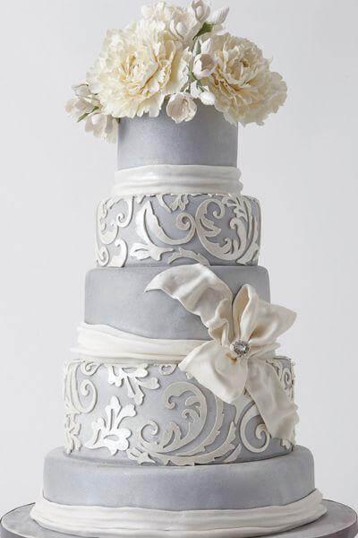 весільні торти Львів фото_64