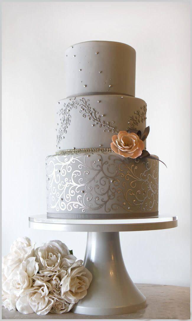 весільні торти Львів фото_66