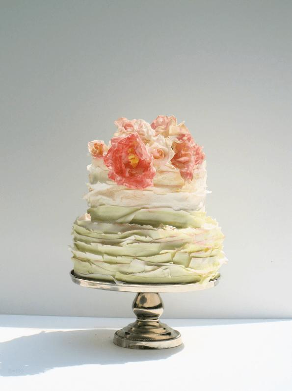 весільні торти Львів фото_4
