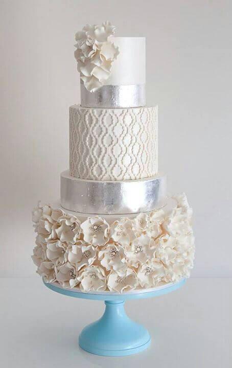 весільні торти Львів фото_68