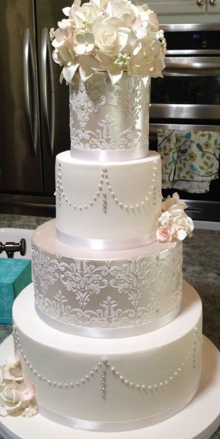 весільні торти Львів фото_70