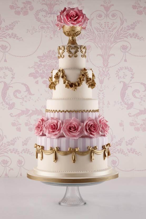 весільні торти Львів фото_71