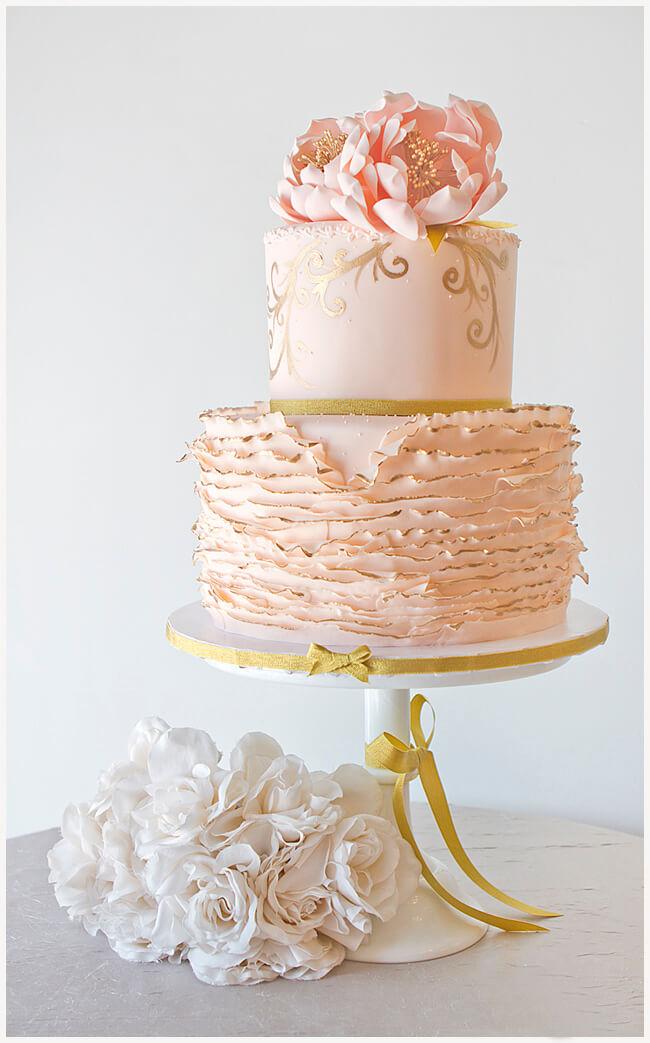 весільні торти Львів фото_76