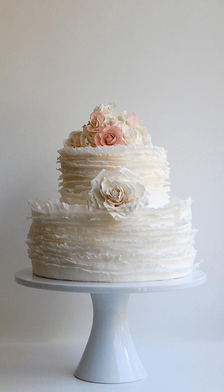 весільні торти Львів фото_5