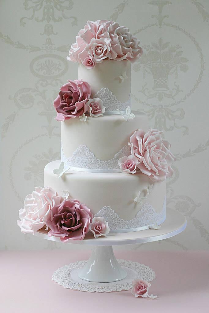 весільні торти Львів фото_82
