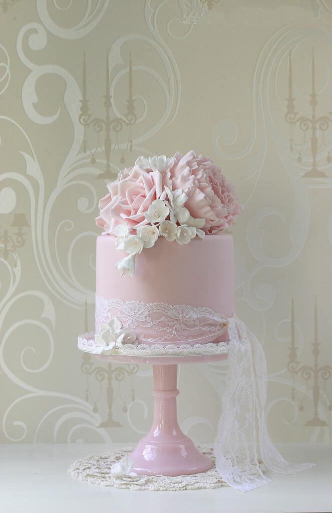 весільні торти Львів фото_87