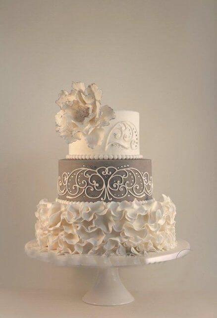 весільні торти Львів фото_90