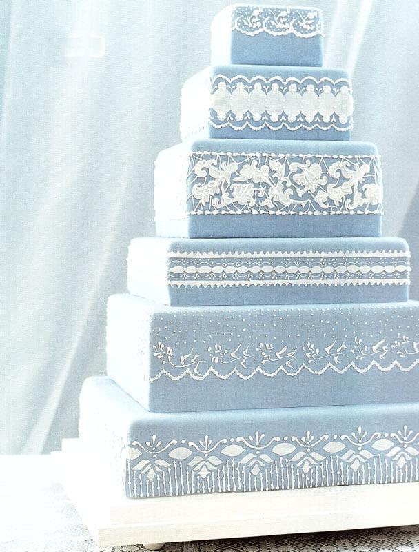 весільні торти Львів фото_93