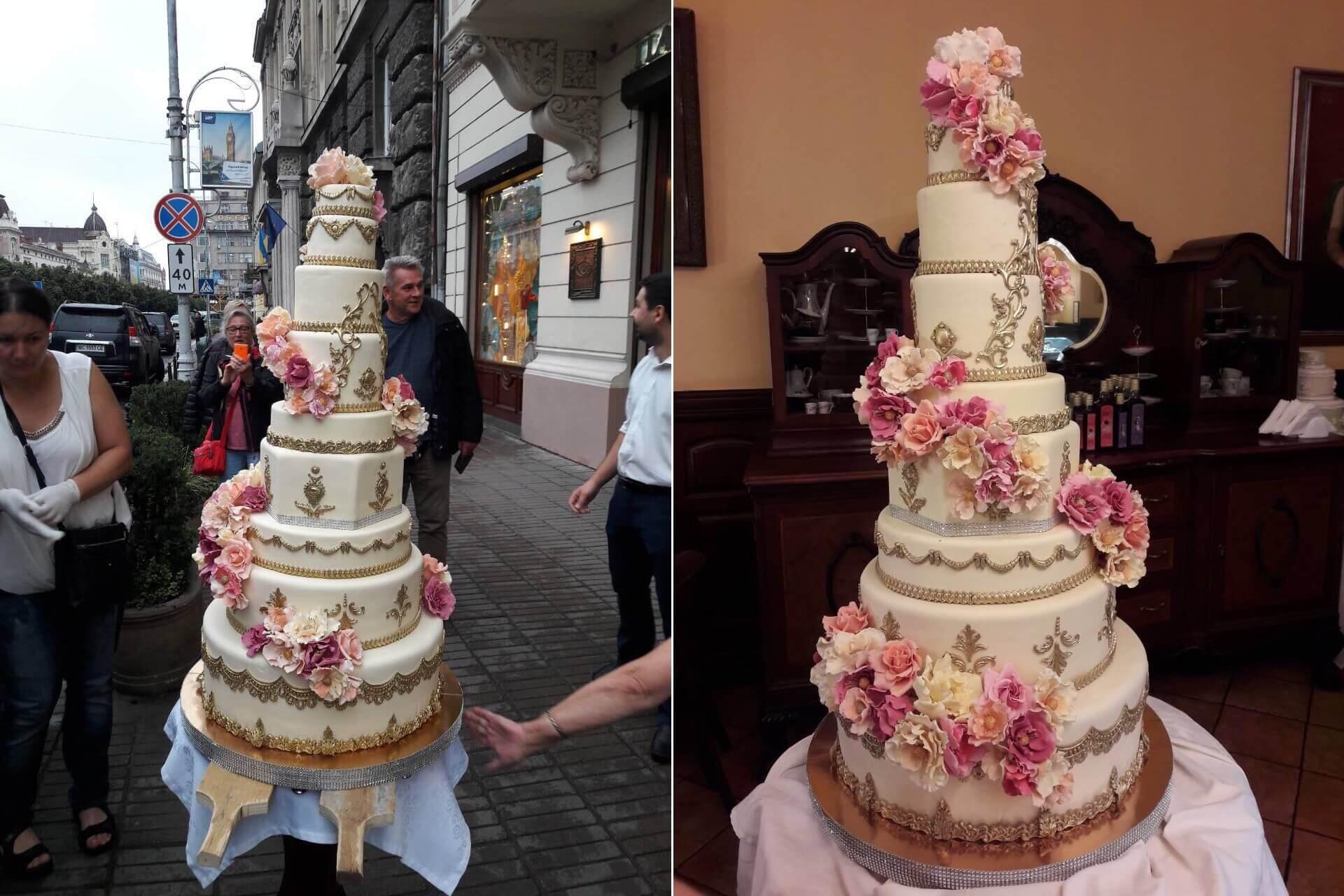 100-кілограмовий торт